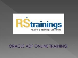 Oracle ADF Online Training hyderabad