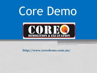 Demolition Byron Bay - www.coredemo.com.au