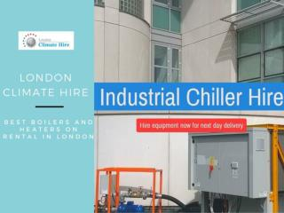 Industrial Chiller Hire Services at London Climate Hire