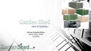 Garden Sheds Sydney - Buy Absco Garden Shed Online | Garden Shed