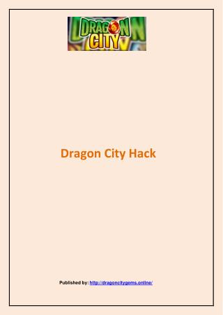 Dragon City-Dragon City Hack
