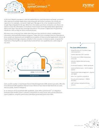 Zyme Cloud Platform 3.0 | zymeConnect