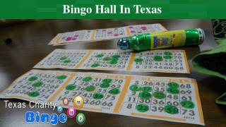 Bingo Hall In Texas