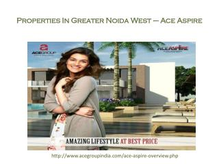 Residential properties in greater noida