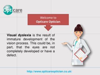 Visual Dyslexia of Youthful Improvement