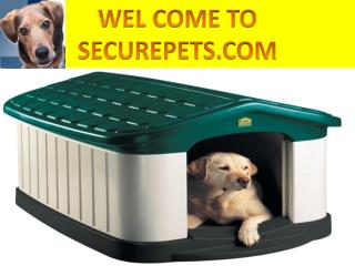 Find top quality dog house ac only at Securepets.com