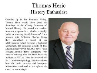 Thomas Heric - History Enthusiast