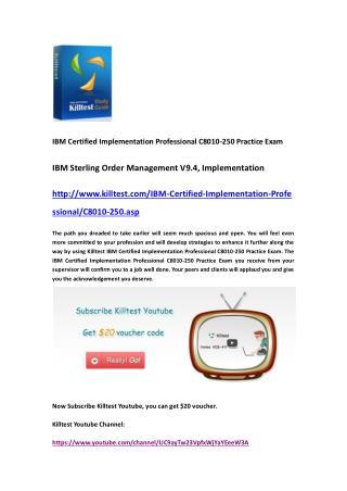 IBM C8010-250 Practice Exam