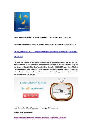 IBM C9010-262 Practice Exam