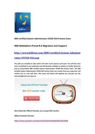 IBM C9520-924 Practice Exam