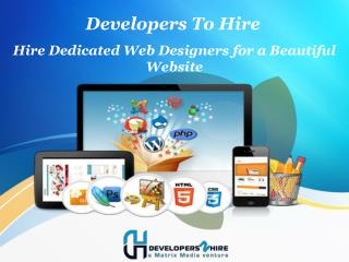Hire Dedicated Web Designers for a Beautiful Website