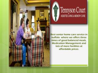 Elder care facilities buffalo