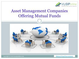 Get Key information on Mutual Fund and its AMCs
