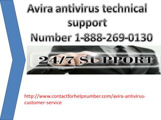 Avira antivirus customer support 1-888-269-0130 number