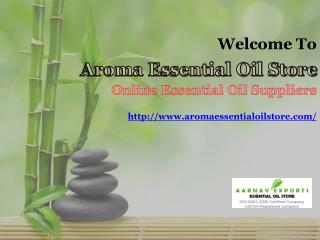 Get Exclusive Collection of Massage and Spa Oils at Aromaessentialoilstore.com