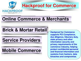 Hackproof for Technology - Hackproof