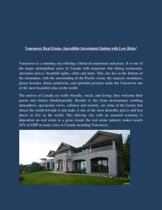 Vancouver Luxury Houses