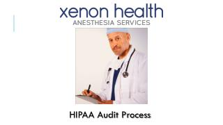 HIPAA Audit Process by Xenon Health