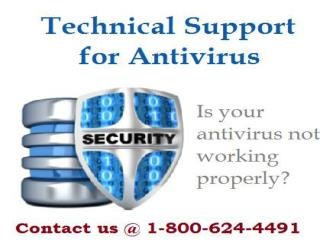 Antivirus Technical Support Helpline