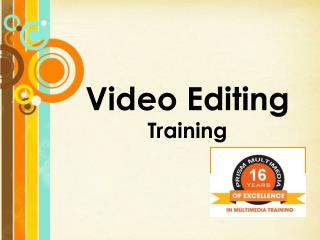 Video Editing Training in Hyderabad & Video Editing Training Institute in Hyderabad, Video Editing Classes