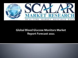 Global blood glucose monitors market