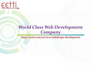 World Class Web Development Company