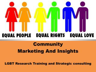 LGBT Research and Marketing