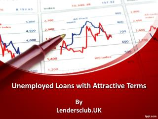 Best deals on loans for unemployed people