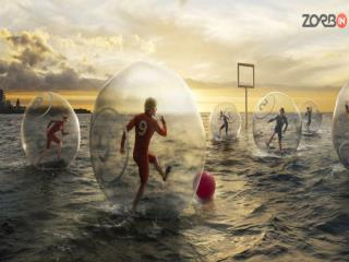 World's largest manufacturer and supplier of zorb balls