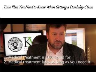 Time Plan You Need to Know When Getting a Disability Claim