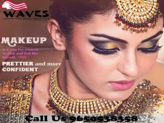 Superior bridal makeup studio in Noida, go and get the best service by our most experienced cosmetologists.Call 96505383