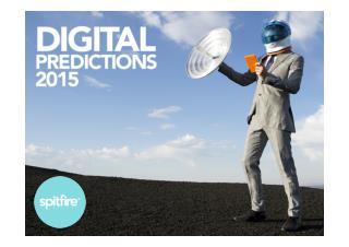 Digital predictions 2015