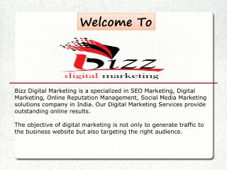 Bizz Digital Marketing PPT