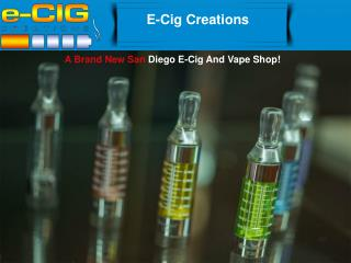 E-Cig and Vapes