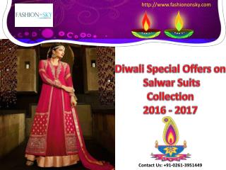 Diwali Speacial Women Clothing Collection 2016- 2017