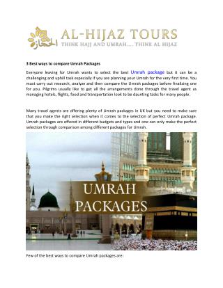 Umrahpackages