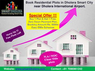 Residential Plots in Dholera Smart City