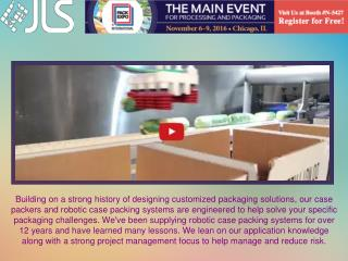 Robotic Case Packaging Systems | Jls Automation