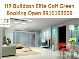 New HR oracle Elite Golf Green, hr buildcon elite golf green 9910102009