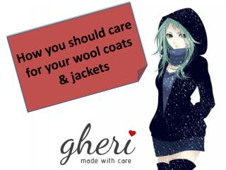 How you should care for your wool coats and jackets