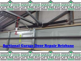Sectional Garage Doors Repair Brisbane