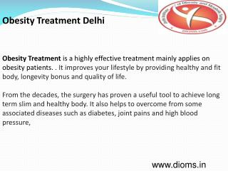 Obesity Treatment Delhi