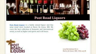 Wine and Spirit Store | Havre De Grace, MD