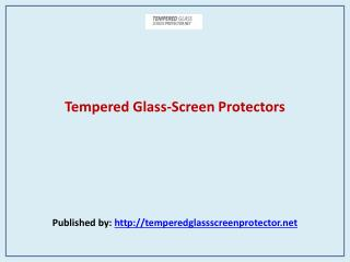 Tempered Glass-Screen Protectors