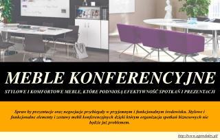 Zrób dobre wrażenie przy pomocy stylowych mebli konferencyjnych