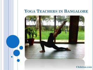 yoga/meditation teachers in Bangalore