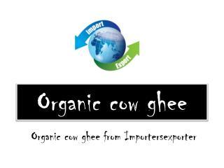 Organic cow ghee wholesalers
