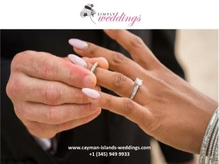 How to go for a personalized wedding ceremony in the Cayman Islands