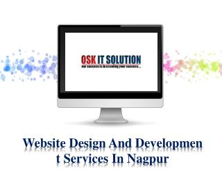 Website Design and Development in Nagpur