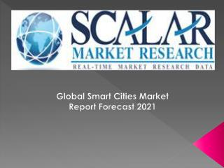 Global Smart Cities Market